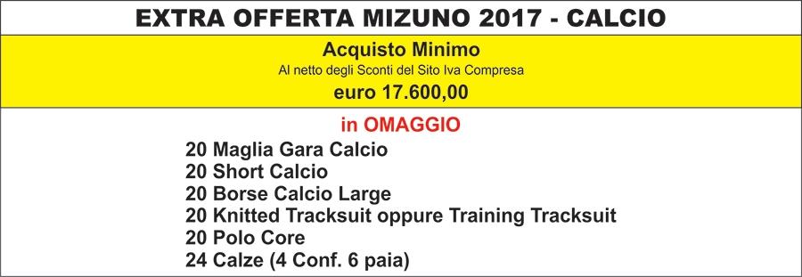 Kit Calcio e Scuola Calcio Mizuno