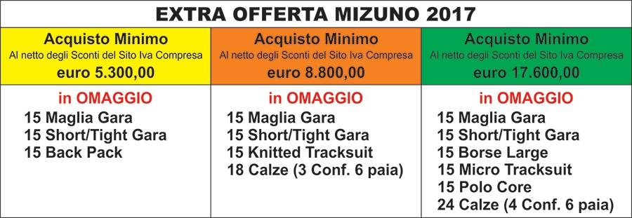 Kit Volley e Minivolley Mizuno