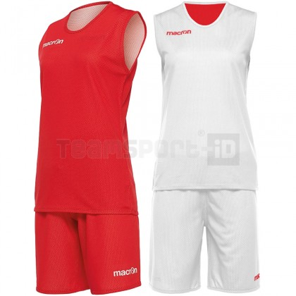 Completo Basket Macron F400 SET REVERSIBLE WOMAN