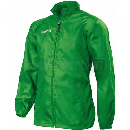 Giacca Pioggia Macron ATLANTIC FULL ZIP WINDBREAKER