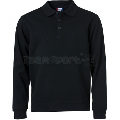 Felpa BASIC POLO SWEATER