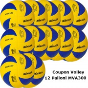 Pallone Volley Mikasa MVA300 Coupon 2018 - Conf. 12 palloni