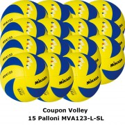Pallone Volley Mikasa MVA123L Coupon 2016 - Conf. 15 palloni