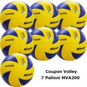 Pallone Volley Mikasa MVA200 Coupon 2019 - Conf. 7 palloni