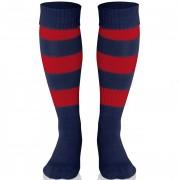 Calza Calcio/Rugby Acerbis DOUBLE STRIPED Con Piede