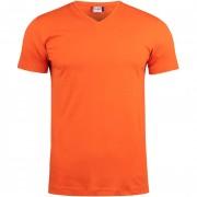 T-Shirt Clique BASIC-T V-NECK Manica Corta