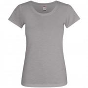 T-Shirt Clique SLUB-T LADIES Manica Corta