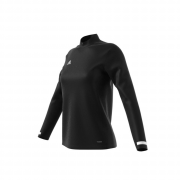 Felpa Adidas TEAM 19 1/4 ZIP LONGSLEEVE WOMAN