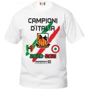 T-Shirt Ufficiale AMATORI WASKEN LODI COPPA ITALIA e SCUDETTO 2020-21