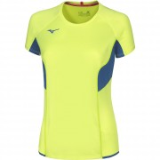 Maglia Running Mizuno AUTHENTIC TEE WOMAN Manica Corta