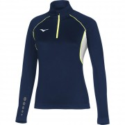 Felpa Running Mizuno PREMIUM JPN WARMER TOP WOMAN