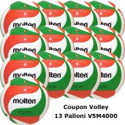 Pallone Volley Molten V5M4000 Coupon 2017 - Conf. 13 palloni