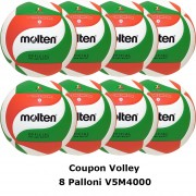 Pallone Volley Molten V5M4000 Coupon 2018 - Conf. 8 palloni