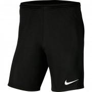 Panta Calcio Nike PARK 3 SHORT senza mutanda interna