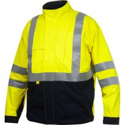 Giacca Antifiamma Projob LINED FLAME RETARDANT HIGH VISIBILITY JACKET