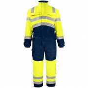 Tuta Lavoro Projob COVERALL PADDED EN ISO 20471 - CLASS 3 - 6202