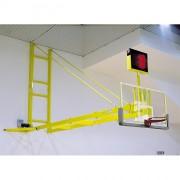 Impianto Basket ROTANTE A PARETE COPPIA