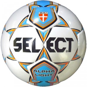 Offerta a Tempo - Pallone Calcio mis. 4 Select ALPHA LIGHT Bianco/Royal - Ultimi 29 palloni