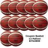 Pallone Basket Molten Maschile B7G3800 Coupon 2020 - Conf. 12 palloni + 1 Spray + 1 Gel + 5 Mask