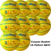 Pallone Mini Basket Molten SB4Y Coupon 2019 - Conf. 10 palloni