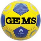Offerta a Tempo - Pallone Calcio mis. 3 Gems BOMBER Giallo/Blu - Ultimi 50 palloni