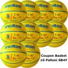 Pallone Mini Basket Molten SB4Y-AD Coupon 2018 - Conf. 10 palloni