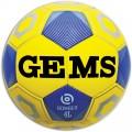 Offerta a Tempo - Pallone Calcio mis. 4 Gems BOMBER LIGHT Giallo/Blu - Ultimi 36 palloni