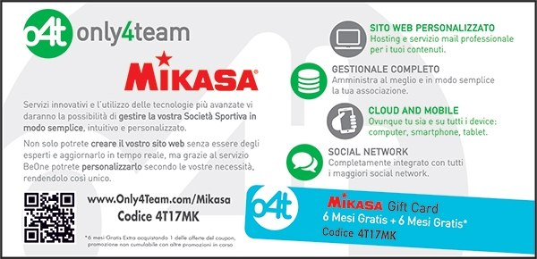 Coupon Volley Mikasa Only4Team