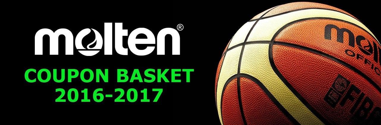 Nuovi Coupon Basket Molten 2016-2017