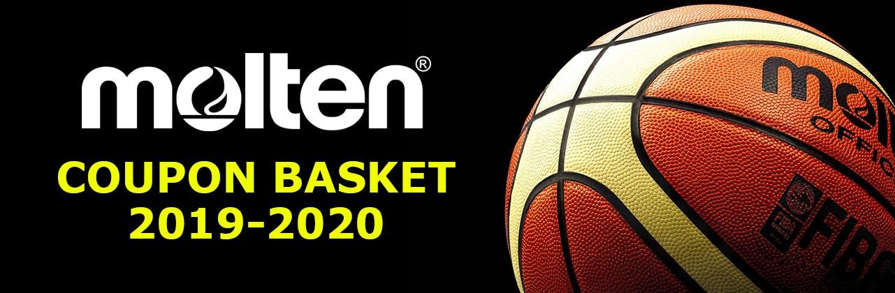 Nuovi Coupon Basket Molten 2019-2020