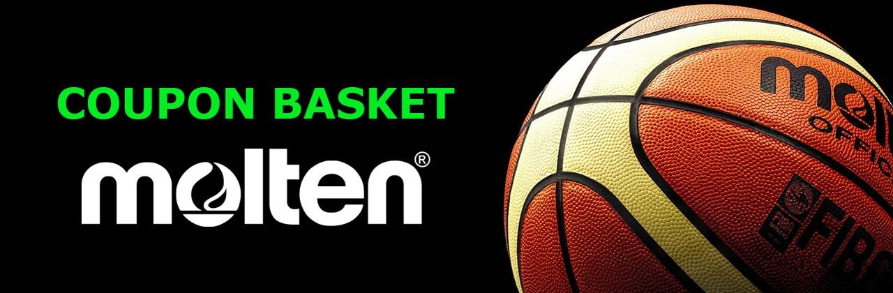 Nuovi Coupon Basket Molten 2021-2022