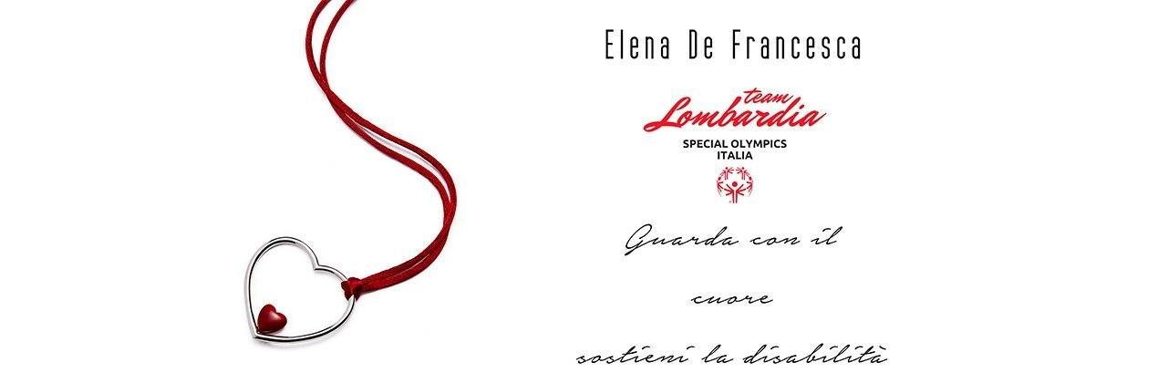 ElenaDeFrancesca per Special Olympics