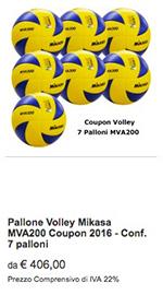 Offerta 7 MVA200 Mikasa Volley 2017