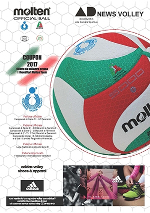Offerte Coupon Volley Molten